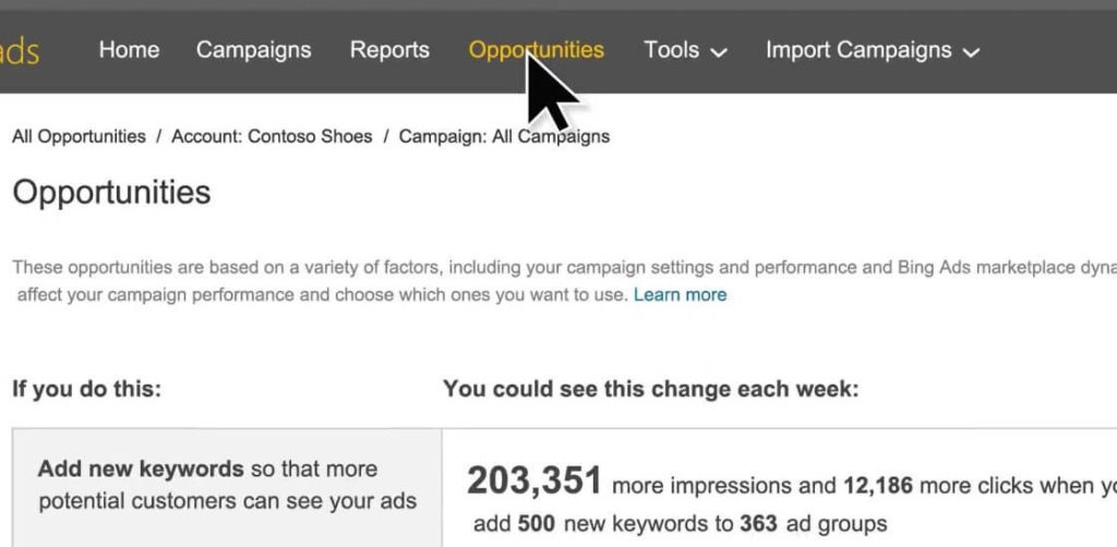 bing-ads-opportunities-tab