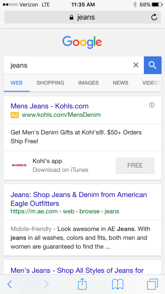 google-jeans-mobile
