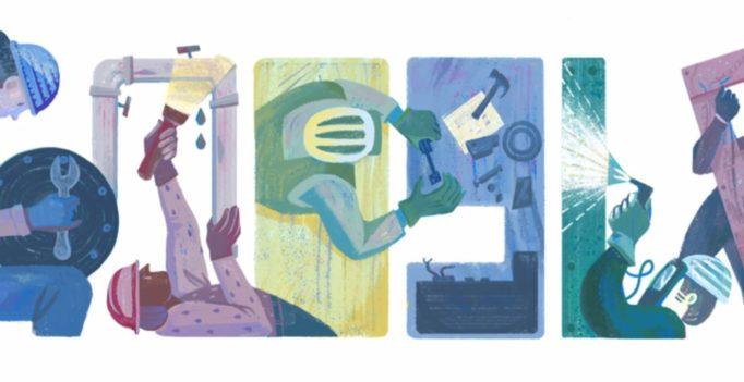 Labor Day Google doodle marks holiday honoring the American workforce