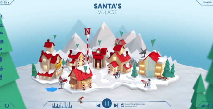 NORAD Santa Tracker Starts Its Countdown