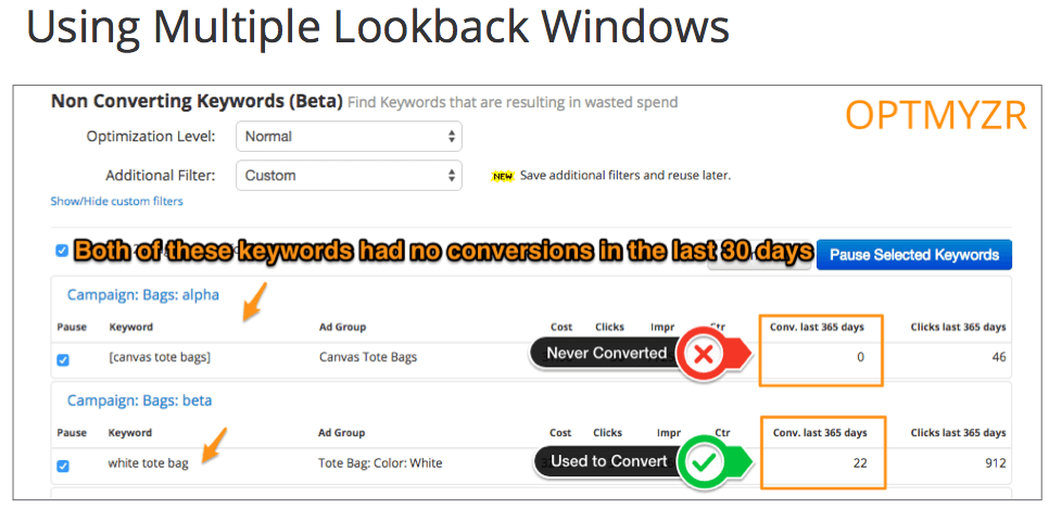 using-multiple-lookback-windows