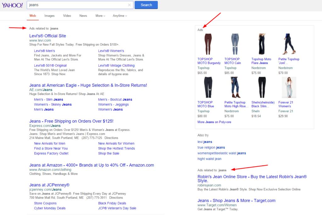 yahoo-jeans-desktop-serp