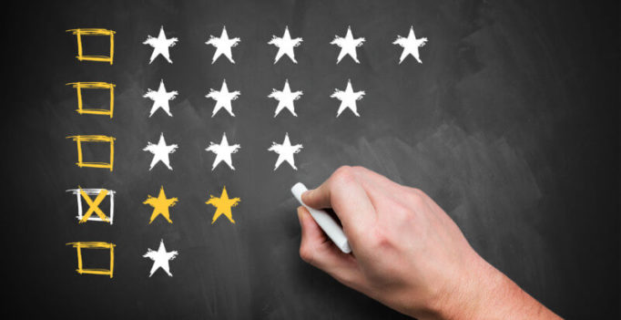 87% of Potential Customers Won't Consider Businesses With Low Ratings
