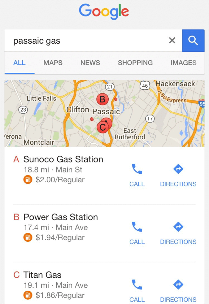 google-gas-prices