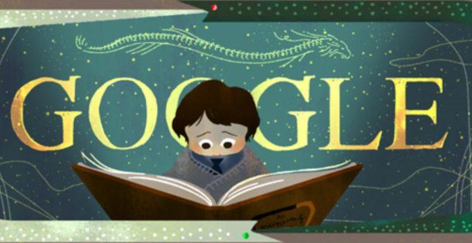 The Neverending Story book Google doodle marks 37th anniversary of children's novel