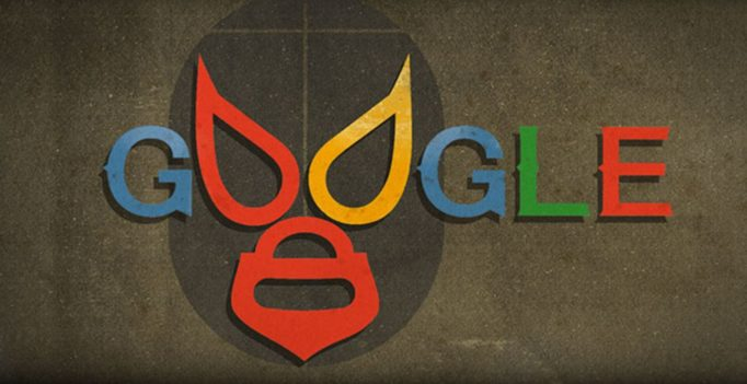 El Santo Google doodle honors Mexican wrestler Rodolfo Guzmán Huerta